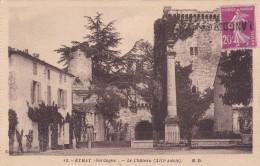 Oblitération Griffe Linéaire 1924-1926 - CP D 'Eymet, Dordogne Vers Langoiran, Gironde - 10 C Semeuse Camée - Storia Postale