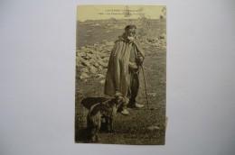 CPA 15 63 43 03 AUVERGNE. Un Pâtre Et Son Fidèle Compagnon. 1912.