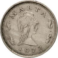Malte, 2 Cents, 1972, British Royal Mint, TTB, Copper-nickel, KM:9 - Malte