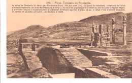 Iran-Perse-Terrasses De Persépolis-Le Palais Détruit Par Alexandre-le-Grand En 350 Avant J.-C. (voir Texte) - Iran