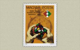 Hungary 1982. Rubik Cube Stamp MNH (**) Michel: 3565 / 0.50 EUR - Ungebraucht
