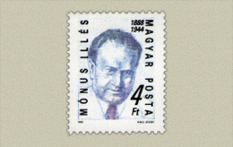 Hungary 1988. Mónus Illés Stamp MNH (**) Michel: 3956 / 0.60 EUR - Ungebraucht
