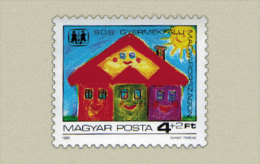 Hungary 1985. SOS Kinder-village Stamp MNH (**) Michel: 3797 / 1.70 EUR - Ungarn