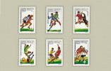 Hungary 1986. Football - Soccer Mexico Set MNH (**) Michel: 3814-3819 / 5 EUR - Ungarn