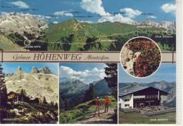 TSCHAGGUNS Im Montafon - Golmer Höhenweg , Lindauer Hütte, Golm - Grüneck .... - Österreich