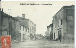 CHENAY Le CHATEL - Route D'Urbise - Otros Municipios