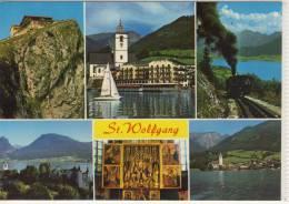 ST. WOLFGANG - Zahnrad Bahn, Schafberg, Pacher Altar, Hotel WEISSES RÖSSL .... - St. Wolfgang