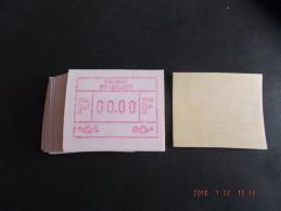 ATM.Jac Papier Crème. Nul-testdruk. NF. 50x.