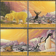 UN - Geneva 239-242 (complete Issue) Unmounted Mint / Never Hinged 1993 Climate Change - Geneva - United Nations Office