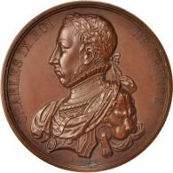 France, Medal, Charles IX, History, XIXth Century, Caqué, SPL, Cuivre, 51 - France