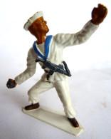 Figurine MARQUE INCONNUE MARIN WW2 GRENADIER - Starlux