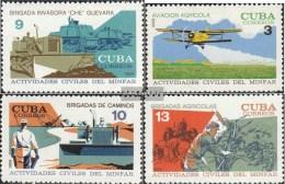 Kuba 1443-1446 (kompl.Ausg.) Postfrisch 1968 Kubanische Armee - Nuevos