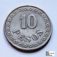 Paraguay - 10 Pesos - 1939 - Paraguay