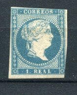 Spain 1856 Sc 46 MH - 1850-68 Royaume: Isabelle II