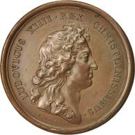 France, Medal, Les Revues Militaires, Louis XIV, History, 1665, Mauger, SUP - France