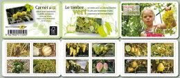 2012 - CARNET AUTOADHESIF - Florre - Fruits De France Et Du Monde - N° YT : 686 à 697 - Carnets
