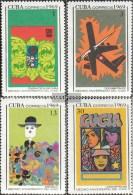 Kuba 1490-1493 (completa Edizione) MNH 1969 Cuban Film Industry - Nuevos