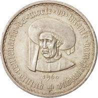 Portugal, 20 Escudos, 1960, Lisbon, SUP, Argent, KM:589 - Portugal