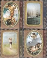 Rumänien 6489-6492 (completa Edizione) MNH 2011 Dipinti - 1948-.... Republiken