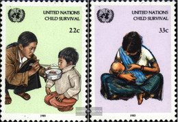 UN - New York 488-489 (complete Issue) Unmounted Mint / Never Hinged 1985 For Children - New York – UN Headquarters