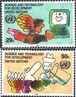 UN - New York 635-636 (complete Issue) Unmounted Mint / Never Hinged 1992 Science And Technology - New York – UN Headquarters