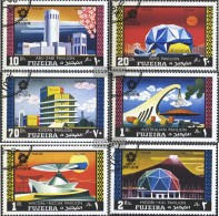 Fujeira 537A-542A (completa Edizione) Usato 1970 World's Fair '70, Osaka - Fujeira