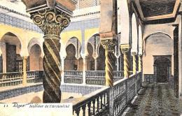 [DC3018] CPA - ALGERIA - ALGERI - INTERIEUR DE L'ARCHEVECHE - Viaggiata 1905 - Old Postcard - Algeri