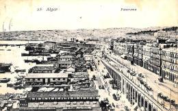 [DC3020] CPA - ALGERIA - ALGERI - PANORAMA - Viaggiata - Old Postcard - Algeri