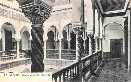 [DC3021] CPA - ALGERIA - ALGERI - INTERIEUR DE L'ARCHEVECHE - Viaggiata 1905 - Old Postcard - Algeri