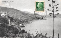 [DC3022] CPA - BORDIGHERA - SCOGLIERA - Viaggiata 1930 - Old Postcard - Imperia