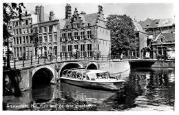 [DC3039] CPA - OLANDA PAESI BASSI - AMSTERDAM - HET HUIS AAN DRIE GRAEHTEH - Non Viaggiata - Old Postcard - Amsterdam