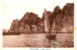 [DC3041] CPA - INDO CHINE BAIE D'ALONG - Non Viaggiata - Old Postcard - Vietnam