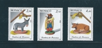 Monaco Timbres De 1993  N°1912 A 1914  Neufs ** - Monaco
