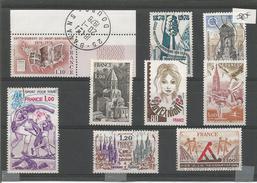 Petit Lot Année 1978 - France