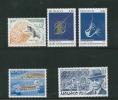 Monaco Timbres De 1992  N°1849 A 1853  Neufs ** Vendu A La Faciale - Neufs