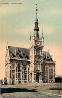 Belgique - Courcelles - L'Hôtel De Ville (vernie Colorisée) - Courcelles