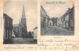 Belgique - Beloeil - Souvenir De Beloeil, L'Eglise, Grand'Rue - Beloeil