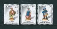 Monaco Timbres De 1992  N°1846 A 1848  Neufs ** - Monaco