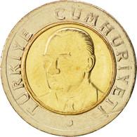 Turquie, New Lira, 2007, Istanbul, SUP+, Bi-Metallic, KM:1169 - Turquie