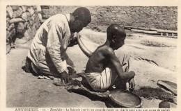 67Sm   Ethiopie Abyssinie Reméde: La Saignée Coup De Rasoir Et Aspiration Du Sang Avec Corne De Vache - Ethiopia