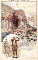 Illustration Chasse Chasseurs - La Caverne De Fingal - La Chasse Aux Mouettes - Pub Chocolat Lombart - Hunting