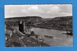 RUINE Ehrenfels, Mauseturm Und Bingen Am Rhein.   Vedi Descrizione - Germania