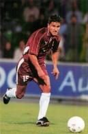 Joueur De Football - Grande Carte N°134 Championnat De France Année 2000 - Nenad Jestrovic Attaquant F.C. Metz - Andere