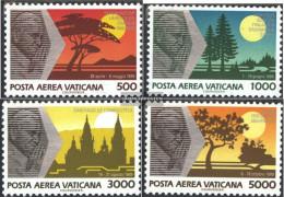 Vatikanstadt 1014-1017 (complete Issue) Unmounted Mint / Never Hinged 1990 Pope Travels - Vatican