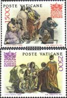 Vatikanstadt 897-898 (complete Issue) Unmounted Mint / Never Hinged 1986 Pontifical Academy - Vatican