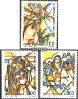 Vatikanstadt 996-998 (complete Issue) Unmounted Mint / Never Hinged 1990 Angela Merici - Vatican