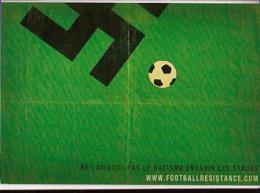 Sports Divers   H10       Cart Com. Football. Ne Laissons Pas Le Racisme Envahir Les Stades - Voetbal