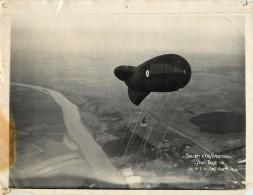 PHOTO . BALLON D'OBSERVATION . 1936 . - Photographs