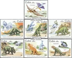 Cuba 2919-2925 (complète.Edition.) Neuf Avec Gomme Originale 1985 Baconao-parc National - Kuba