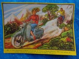 Pub Des Annees 1959 LUC-grande  Image N° 25 Scooter Mobylette - Publicité